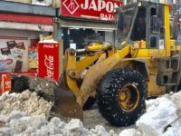 Kar Kaldırma Çalışmaları Devam Ediyor