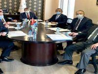 Akın, Yönetim Kurulu Toplantısına Başkanlık Etti