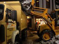 Bartın Belediyesi'nden 24 Saatlik Kar Mesaisi