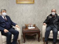 22.Dönem Milletvekili Kabarık'tan Başkan Akın'a Ziyaret