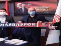 Amasraspor'dan Tunç'a Ziyaret