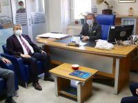 Başkan, Tapu Müdürü Çiçek'i Ziyaret Etti
