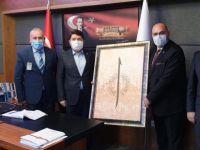 Ak Parti Amasra Teşkilatından Tunç'a Ziyaret