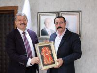 Karacasu Belediye Başkanı Beydili'den Başkan Akın'a Ziyaret