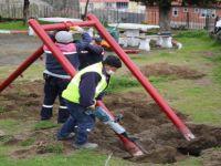 Fatih Parkı'ndaki Oyun Grupları Yenileniyor