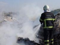 İtfaiyeden Çöp Yangınına Anında Müdahale