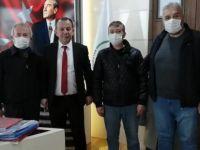 İşyerinde patlama meydana gelen esnafa belediyeden destek