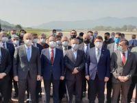 Bakan Havalimanı Pistinin Açılışını Gerçekleştirdi