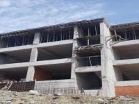 Hükümet Konağı İnşaatında Son Kat Betonu Da Döküldü
