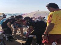 4 kişi boğulmaktan son anda kurtarıldı