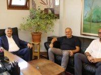 Başkan Akın'dan Mimarlar Odası'na Ziyaret