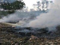 Polisin Dikkati Olası Büyük Bir Yangını Önledi