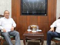 İskilip Belediye Başkanı Sülük'ten Başkan Akın'a Ziyaret
