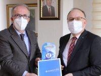 Zonguldak Valisi Tutulmaz, Rektör Uzun'u ziyaret etti