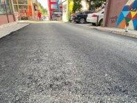 152. Sokak'ta Sıcak Asfalt Çalışmaları Tamamlandı