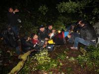 Minibüsün devrilmesi sonucu 10 kişi öldü 18 kişi de yaralandı
