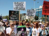 Zonguldak'ta Kadına Yönelik Şiddet Protesto Edildi