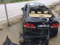 Safranbolu'da Trafik Kazası: 4 Yaralı