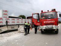 Bolu'da İş Kazası: 1 Yaralı