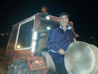 Kastamonu'da Traktörlü Ramazan Davulcusu