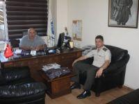 Jandarma Komutanı Yüzbaşı Uğurel, Veda Etti