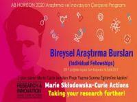 Marie Curie Bursları 2017 yılı çağrısı açıldı