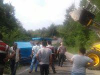 Bartın'da Traktör Devrildi: 1 Yaralı