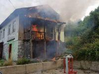TTK'ya ait lojmanda yangın çıktı