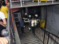 Ereğili'de Özel Hastanede Yangın