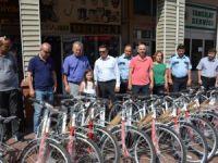 Çaycuma Belediyesinden Polislere Bisiklet