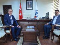 Milletvekili Tunç'tan Rektör Uzun'a Ziyaret
