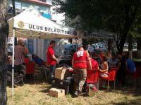 Ulus'ta ki kan bağışında 57 ünite kan bağışı alındı