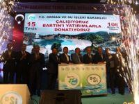 Bakan Eroğlu, 15 adet tesisin temelini attı