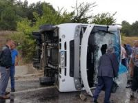 Kastamonu'da Midibüs Devrildi: 1 Ölü, 16 Yaralı