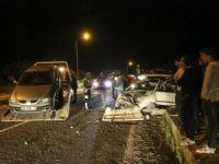 Kastamonu'da İki Otomobil Çarpıştı: 6 Yaralı