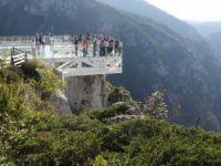 450 Metre Yüksekteki Cam Seyir Terasına Yoğun İlgi