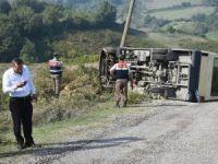 Bartın'da Öğrenci Servisi Devrildi: 6 Yaralı