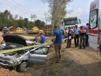 Bartın'da Trafik Kazası: 1 Ölü, 4 Yaralı
