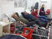 37 ünite kan ve kök hücre bağışı toplandı
