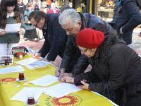 Güzelcehisar'da uygulanan projenin iptali için imza toplanıyor