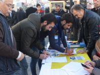 Güzelcehisar projesinin iptali için toplanan imzalar teslim edildi