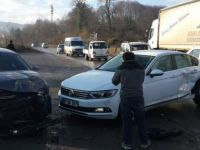 Zonguldak'taki Trafik Kazası: 3 Yaralı