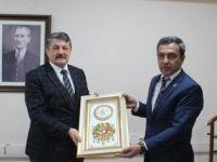Belediye Başkanı Akın'a Ziyaret