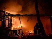 Karabük'te Restoran Yangını