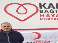 Türk Kızılayı Gönüllüsü Rıza Çakın, Kan bağışı kampanyasına destek olmaya davet etti