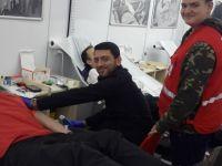 119 ünite kan bağışı ve 73 ünite de kök hücre bağışı alındı