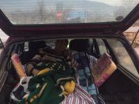 Felçli Hasta Taşıyan Otomobil Kaza Yaptı: 1 Yaralı