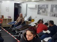 Türk Kızılayı Ulus İlçesinde kan bağışı aldı
