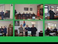 Başkan Uzun'dan kurumlara yeni yıl ziyaretleri