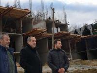 Başkan Uzun, TOKİ inşaatlarını inceledi